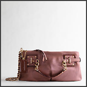 Coach Brooke Suede Clutch