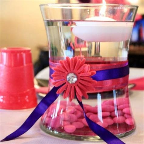 prom table decorations   Prom Table Decor   Prom Ideas