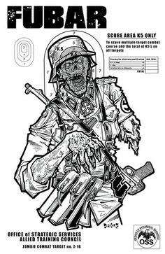 Free Online Printable Shooting Targets | zombies and toys: A ...