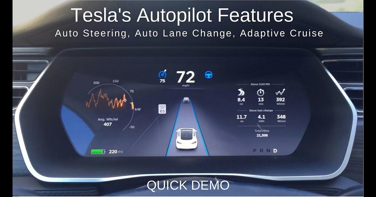 What Is Tesla Autopilot Convenience Features