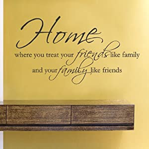 Amazon.com - Home where you treat your friends like family and