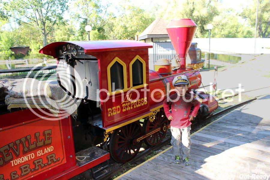 Centreville Train Front