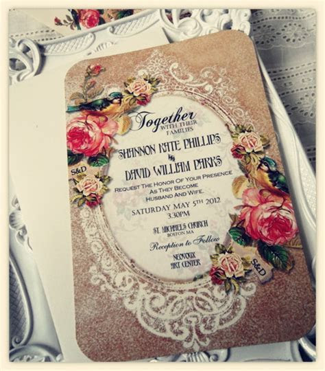 Choose Your Invitation Style ? Vintage Wedding Invitations
