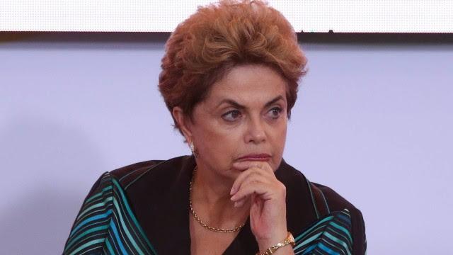 A presidente afastada, Dilma Rousseff (PT)