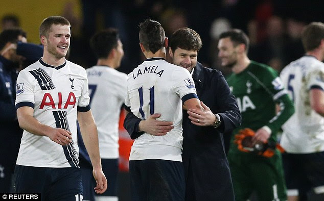 Eric Dier (left) provided to be a great alternative in defensive midfield after Tottenham missed transfer targets