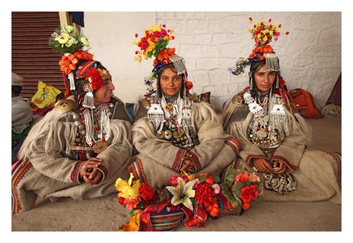 Женщины народности дрокпа