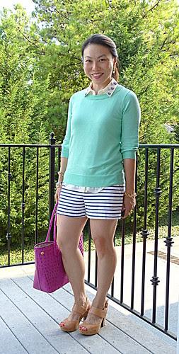 mint + shorts