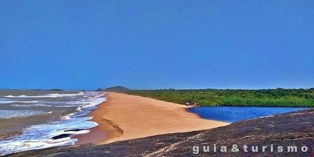 Parque Estadual Paulo Cesar Vinha, lagoa e mar em um só lugar
