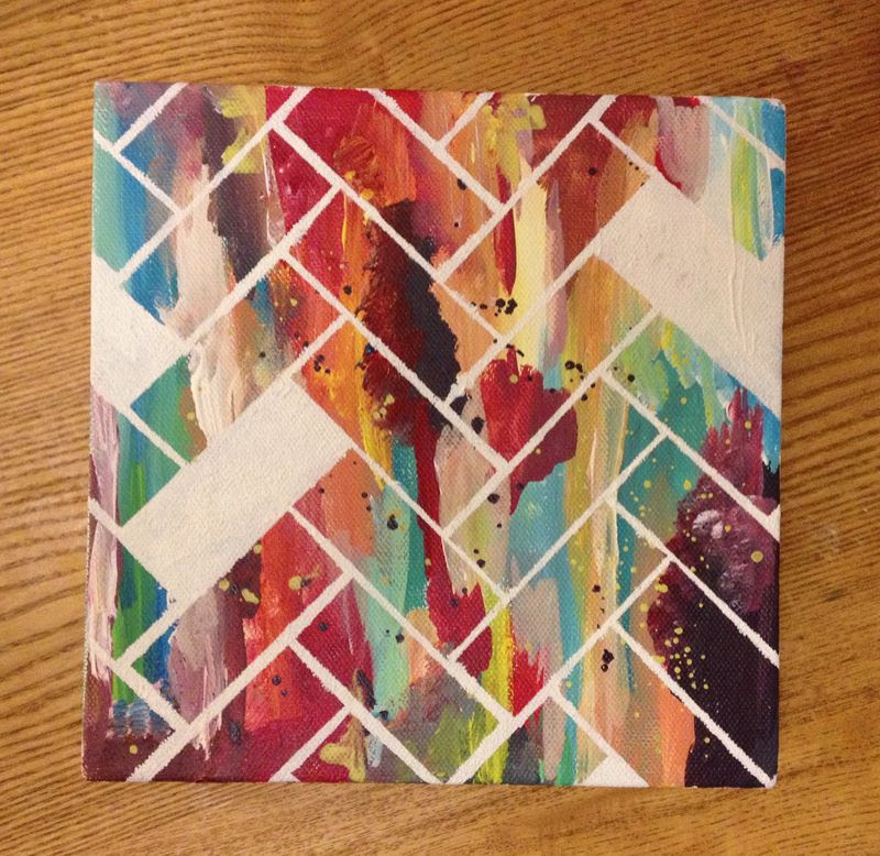 D.I.Y Canvas Artwork by Ooh! I Like That
