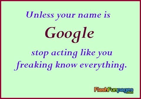 Know It All Ecards For Facebook