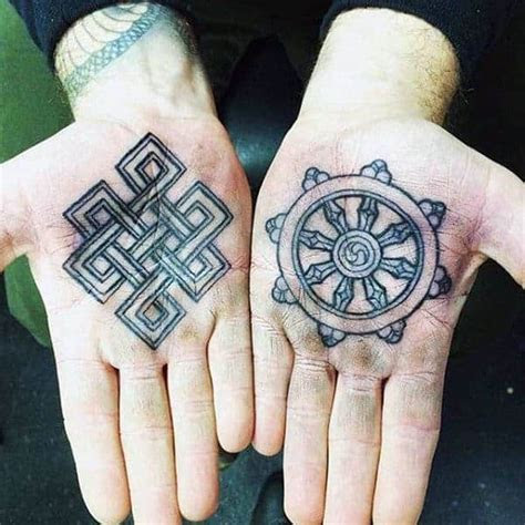 top hand tattoos