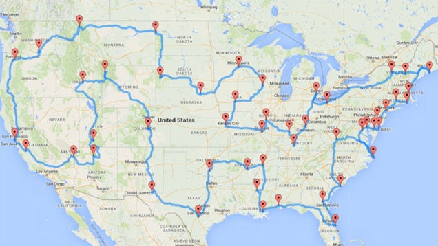 Visit the Top City or Landmark in Every US State with These Maps