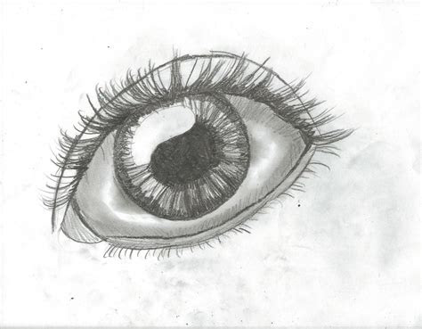 draw realistic anime eyes drawing step  step