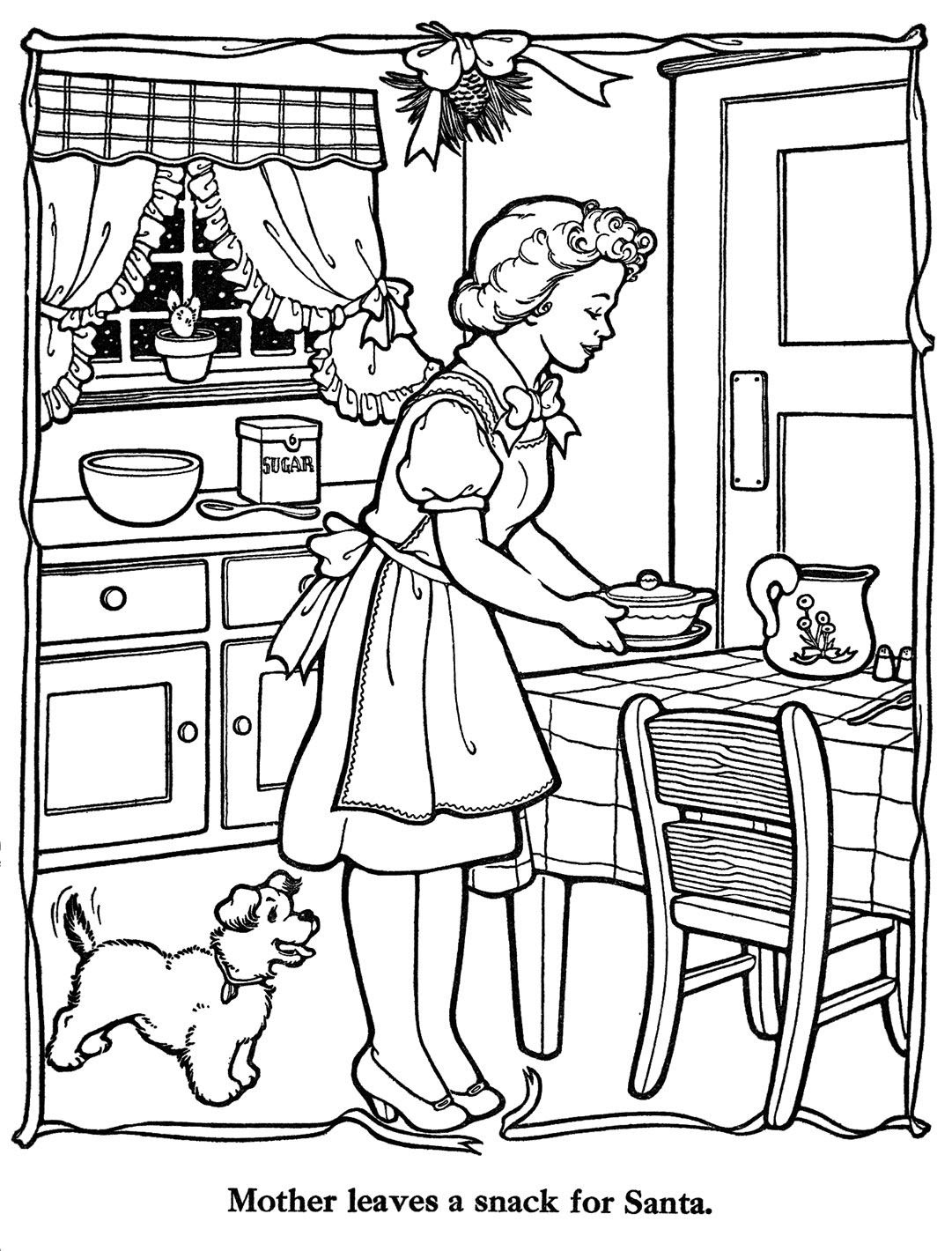 Christmas Countdown Coloring Pages at GetColorings.com ...