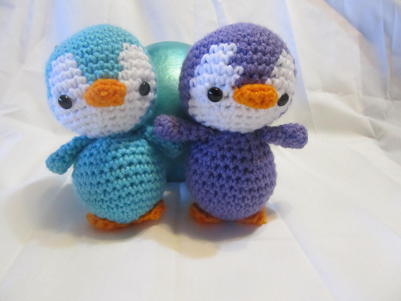 Make Your Own Penguin - Crochet Pattern