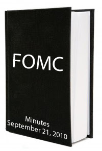 FOMC September 2010 Minutes
