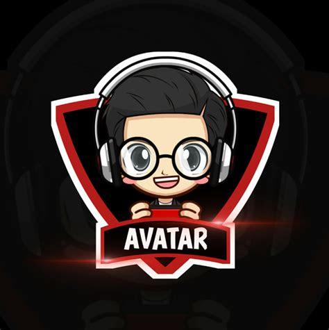 membuat logo squad  avatar gaming mobile legends