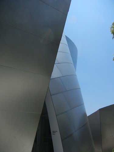 DSCN8509 _ Exterior Detail, Walt Disney Concert Hall, Los Angeles, July 2013