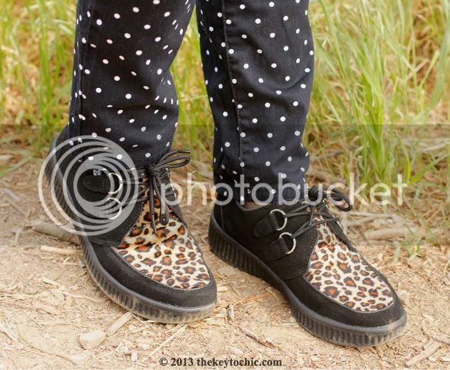 T.U.K. Viva leopard creepers