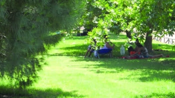 Κάμπινγκ τσιγγάνων σε πάρκα - παραλίες