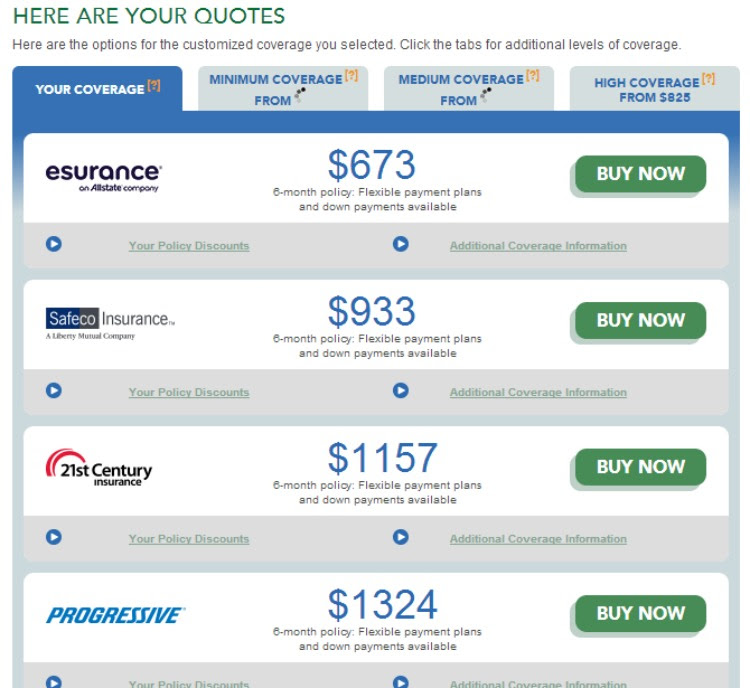 Insurance Company: Auto Insurance Quotes Compare