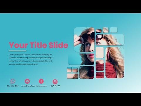 Download Template Judul Presentasi Keren Bagian 01