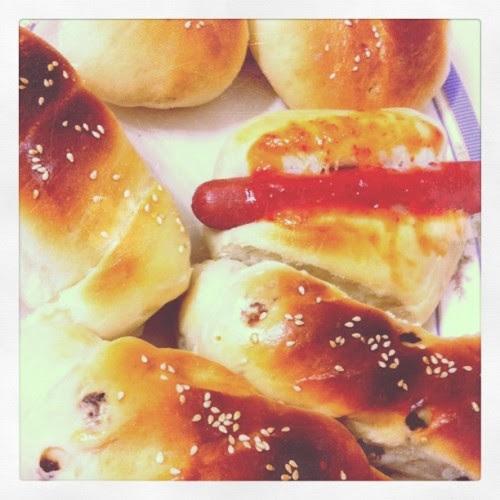 My third batch of breads! :D (Taken with instagram)