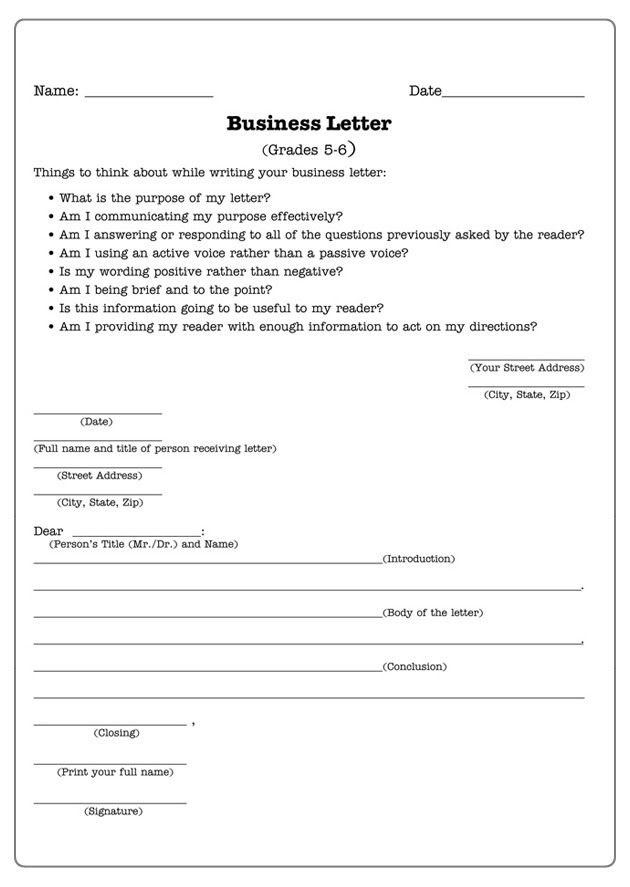34 FREE GRADE 3 LETTER WRITING DOCX DOWNLOAD PDF