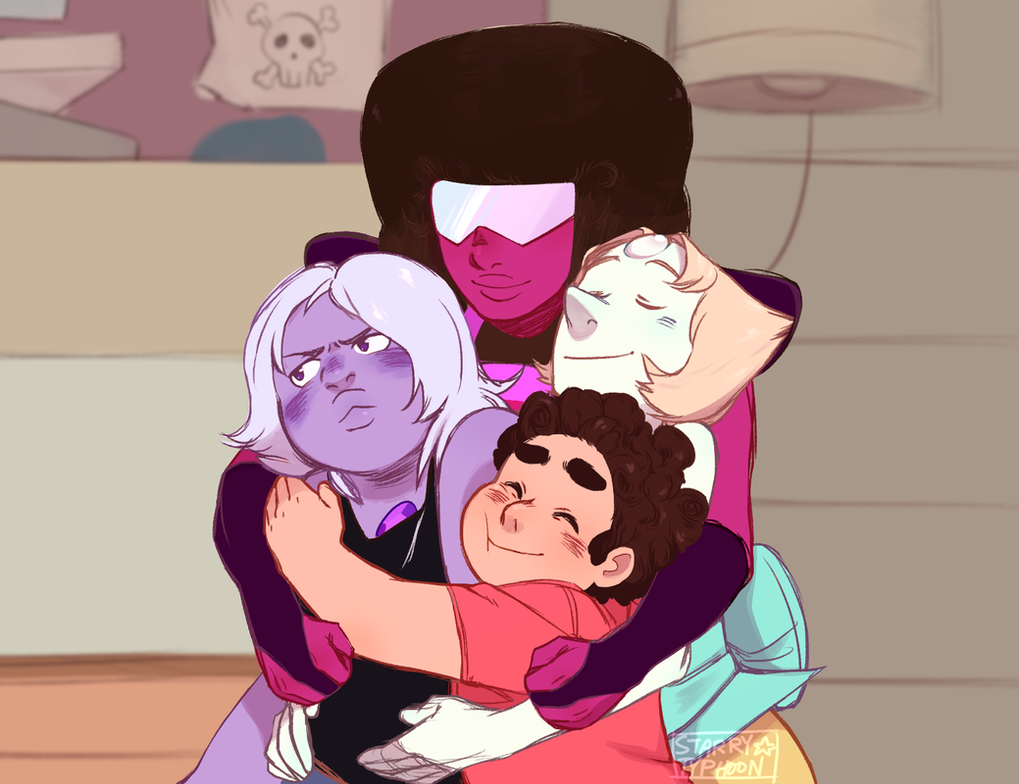 Redraw of this screencap, from Reformed. Steven Universe (c) Rebecca Sugar Art (c) me (tumblr post: starrytyphoon.tumblr.com/post/…)