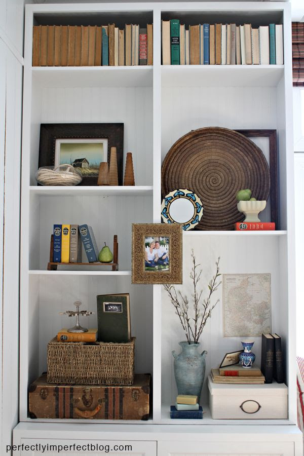BOOKCASE DECORATING | TABLE DECORATING IDEAS | THANKSGIVING TABLE ...