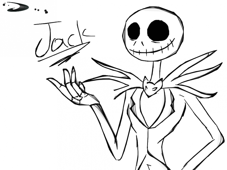 Jack The Pumpkin King Coloring Pages