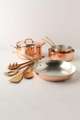 Ruffoni Copper Cookware Set