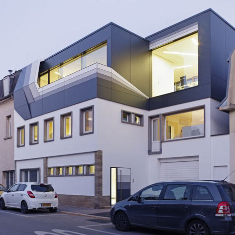 Rooftop Office by Dagli+ Atelier d'Architecture - Dezeen