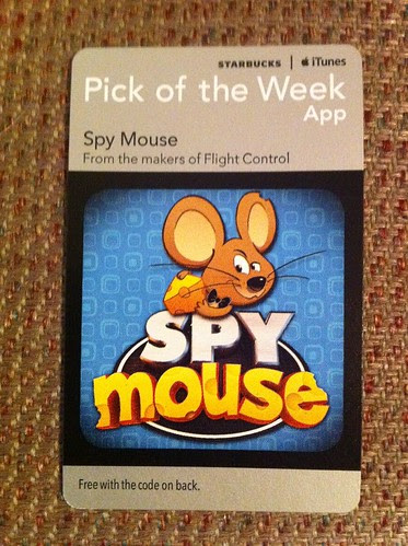 Starbucks iTunes Pick of the Week - Spy Mouse [app]
