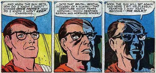 Jack Kirby Triple Panel: Incredible Hulk #1