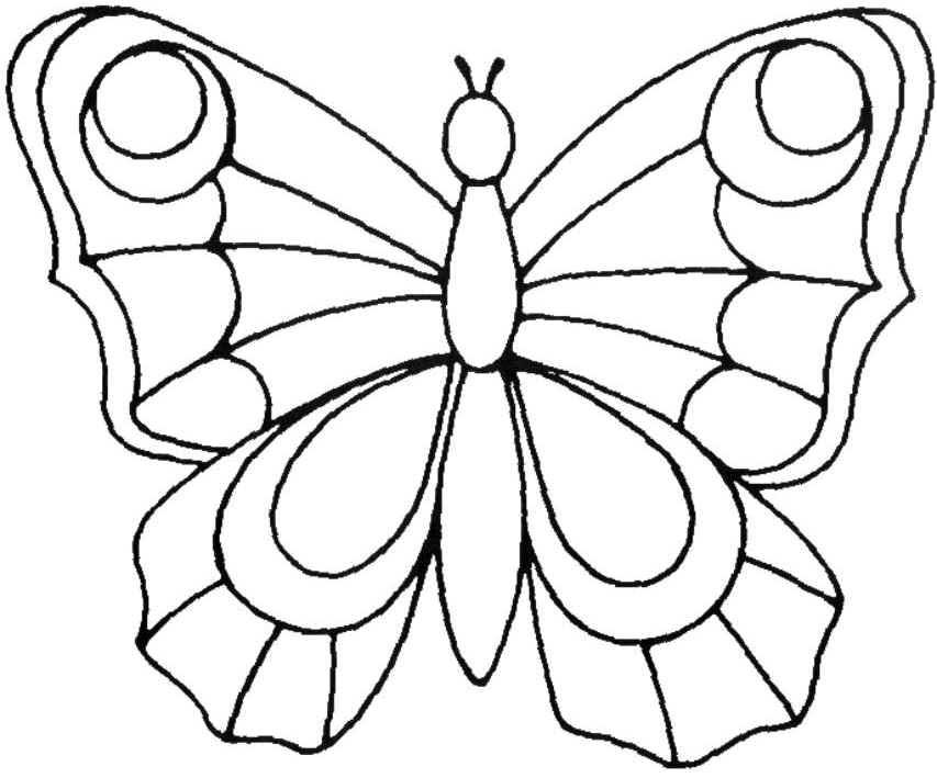 20 Lovely Malvorlagen Kinder Schmetterling