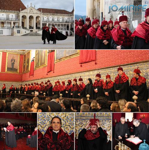 Cerimónia de Imposição de Insígnias de Doutorados da Faculdade de Direito da Universidade de Coimbra