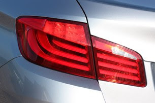 2013 BMW ActiveHybrid 5 taillight