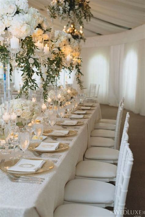 Snowy White Opulent Canada Wedding   MODwedding