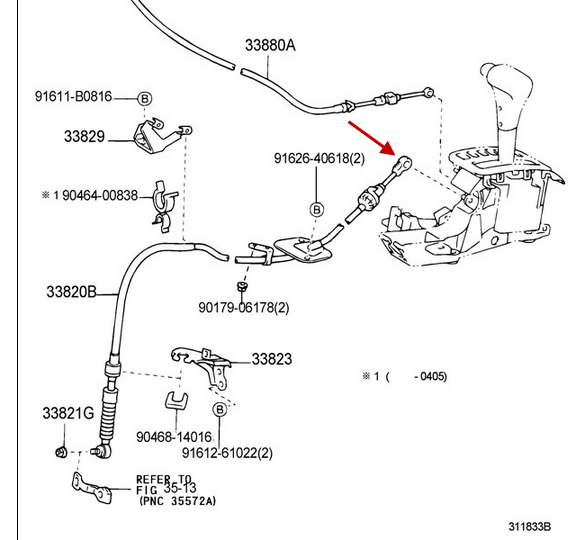 Gear Shift Doesn T Actually Change Gears Linkage Problem Automatic Toyota Nation Forum