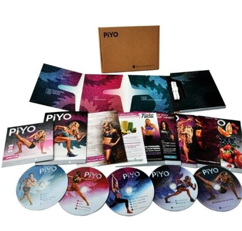 dvd deluxe piyo workout   bonus dvds