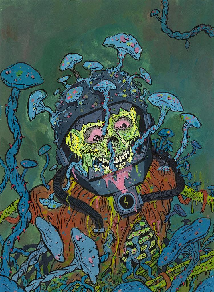 Trevor Henderson - Mushrooms
