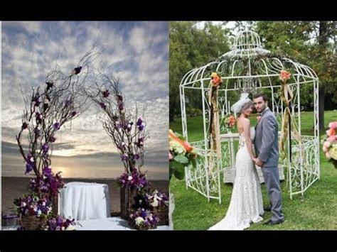 Cheap Wedding Arch Decoration Ideas   YouTube