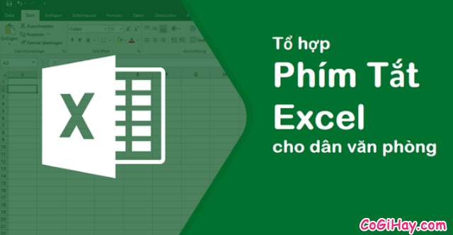 Tổng hợp những tổ hợp phím tắt hay dùng trong Microsoft Excel + Hình 1