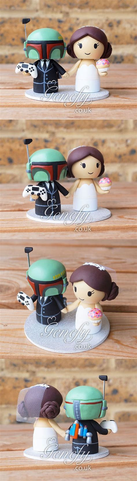 Pin by Kelly Weaver on Boba fett   Star wars wedding cake