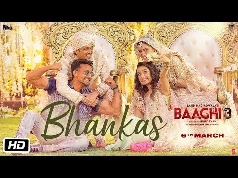 Bhankas Lyrics - Baaghi 3 Movierulz (2020)