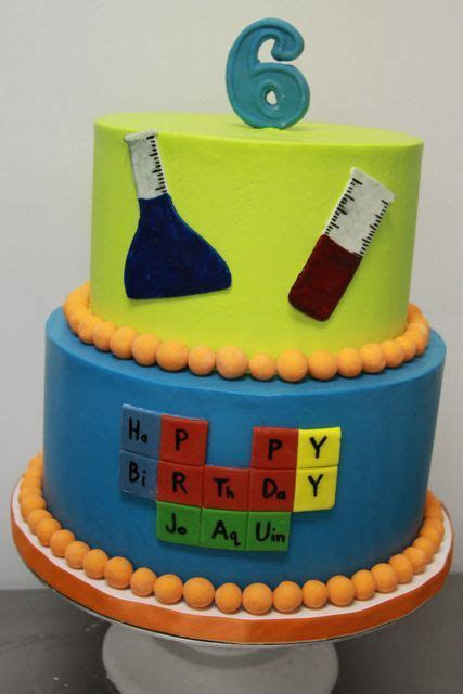 Some Periodic Table Themed Cakes / Periodic Table Cake Ideas