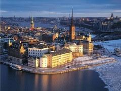 Winter di Stockholm, Sweden