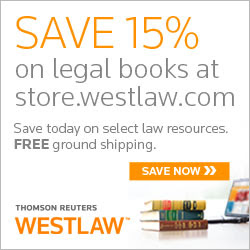 Save 15% on West Legal Books