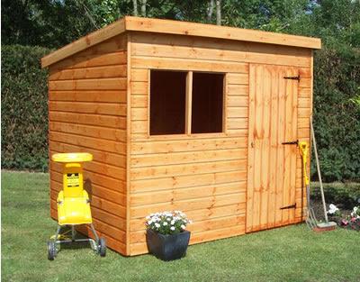 James Pent Wooden Garden Sheds